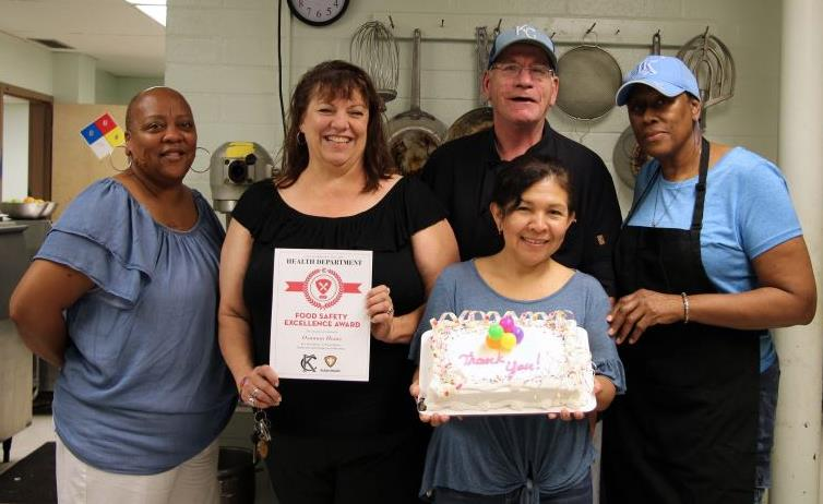 Food Service Staff Honored with Excellence Award